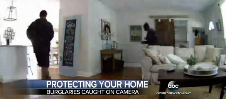 Top 10 Surveillance Videos of the Week: Home Security Alarm Scares Off Robbers